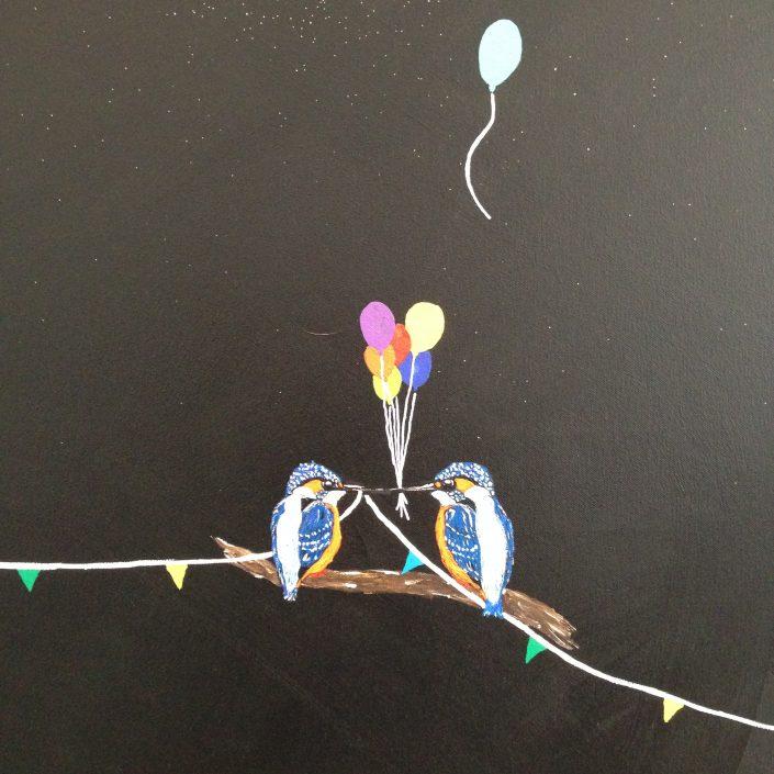 Artmotiv - Frank van der Feltz - 2 birthday birds
