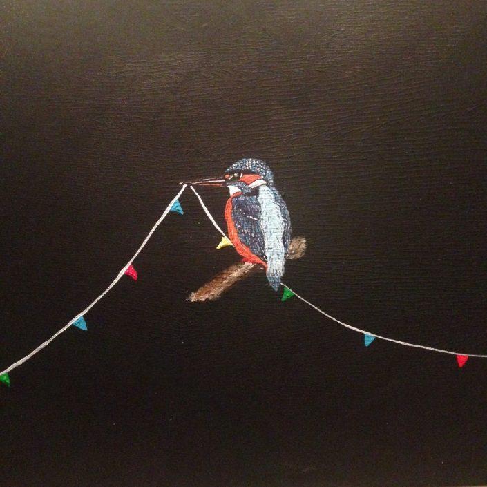 Artmotiv - Frank van der Feltz - Kingfisher Party