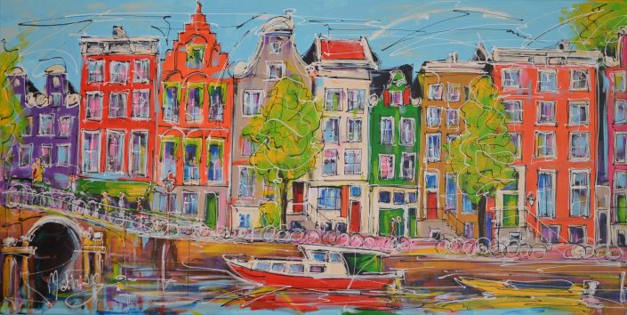 Artmotiv - Mat - Canal by Day - 70 X 140 cm
